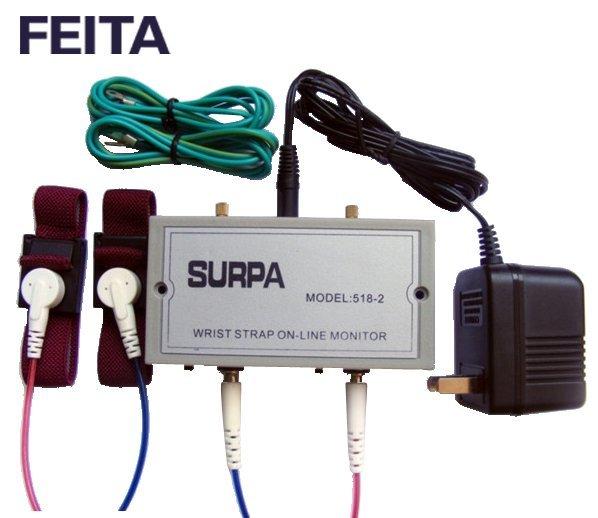 SUPRA 518-2 Wrist strap on-line monitor