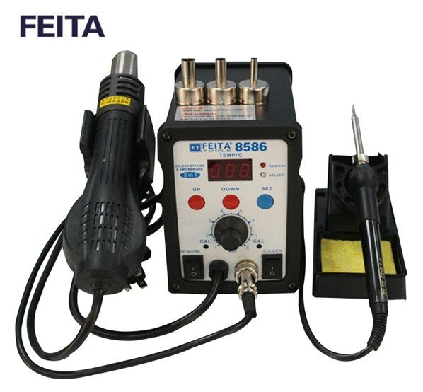 FT8586 Hot Air Soldering Rework Station
