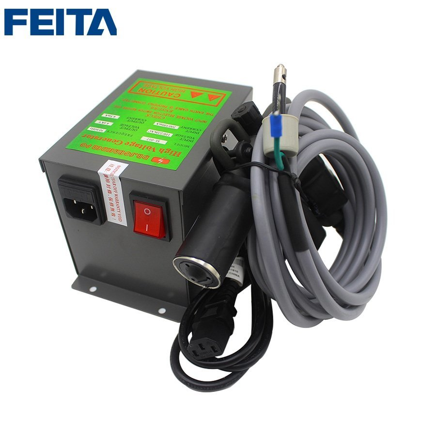 SL-004C Ion Air Gun+SL-007 Power Supply Antistatic Ionizing Air Blow Gun, ESD Ionizer Air Spray Guns, Static Eliminate Ionizing