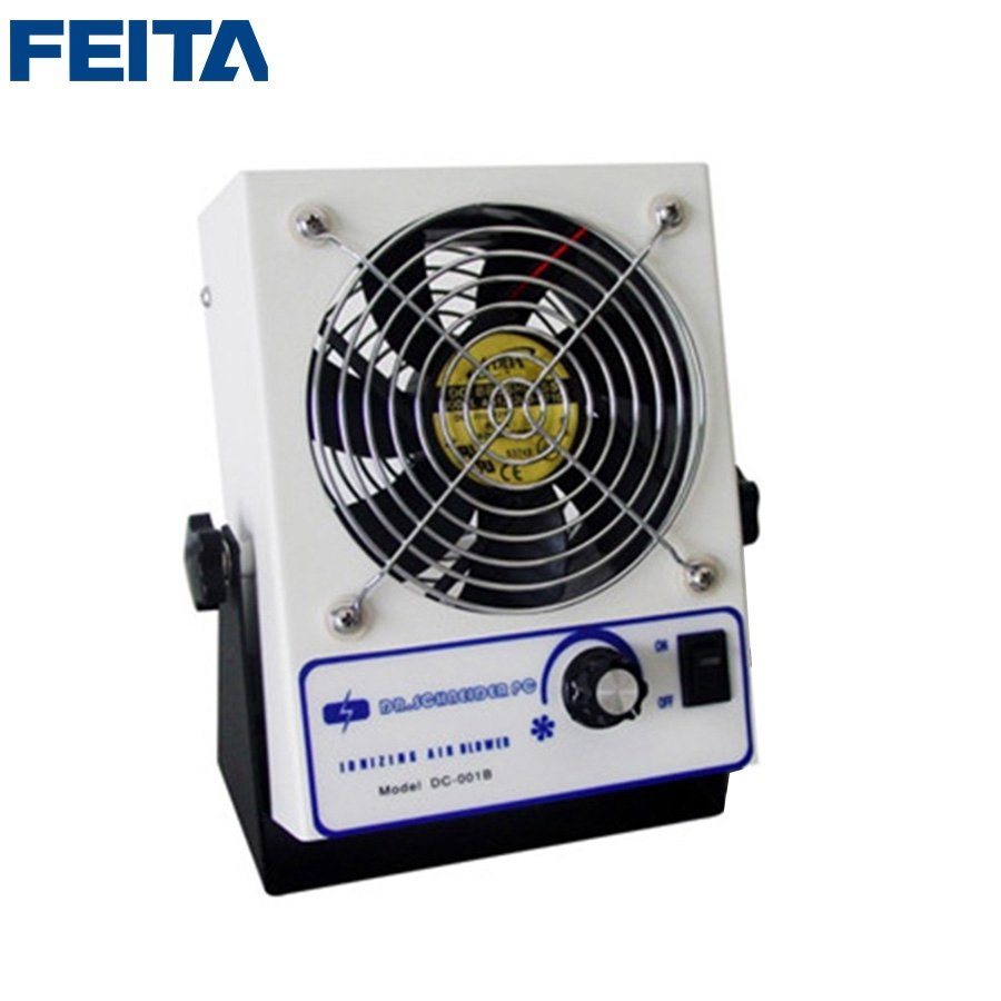 DC-001 Desktop Ionizing Cool Air Blower / ESD Air Blower Fan / Static Free Ionizer Blower