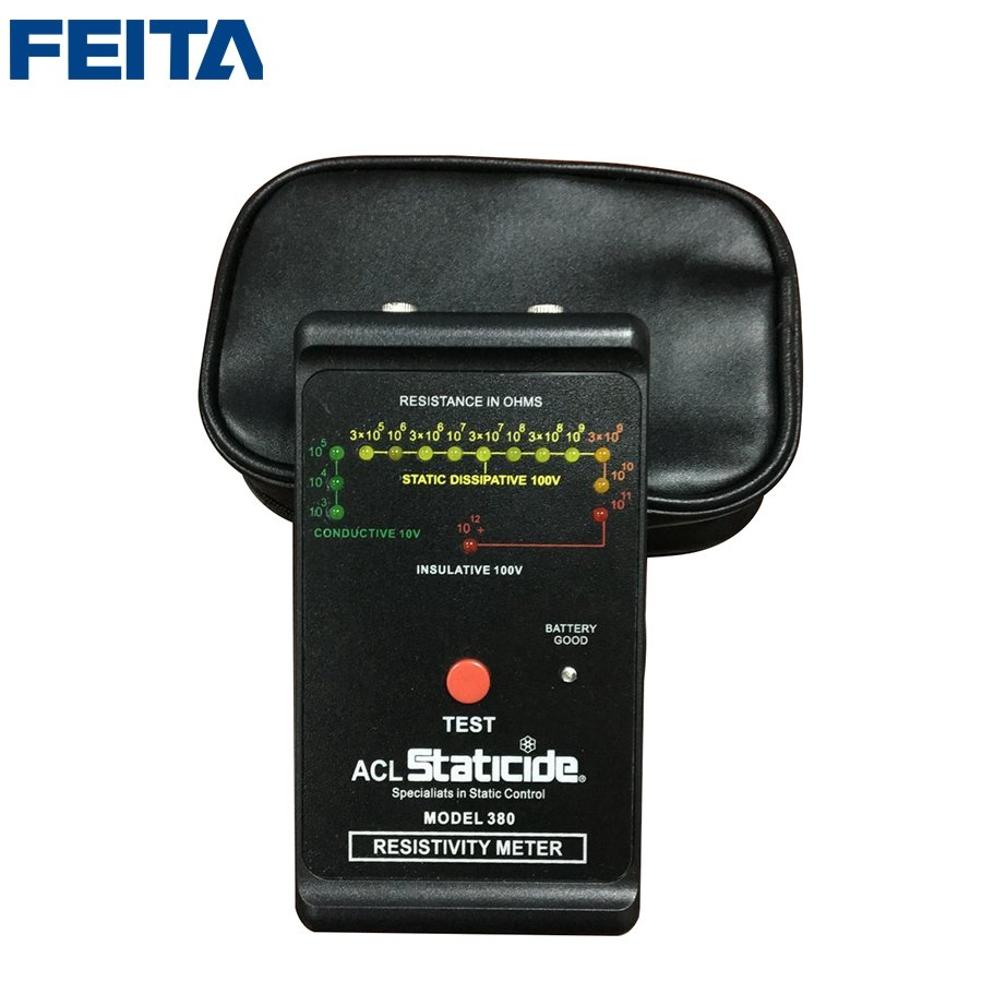 ACL 380 100V Surface Resistance Tester Static Dissipative Specialits Staticide Control Resistivity Meter