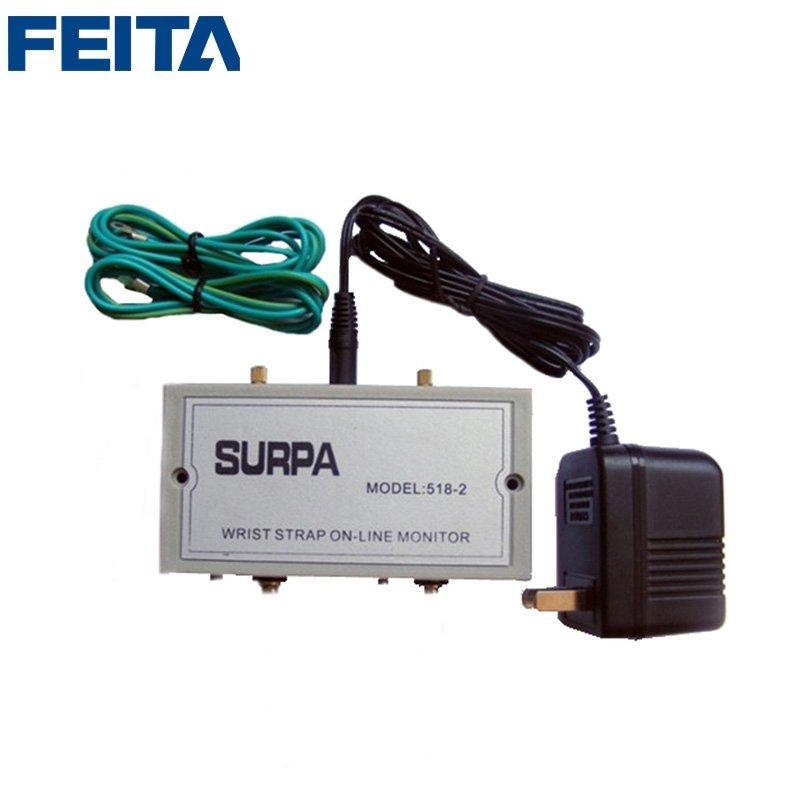 SURPA 518-1, SURPA 518-2 ESD Wrist Strap On-line Monitor
