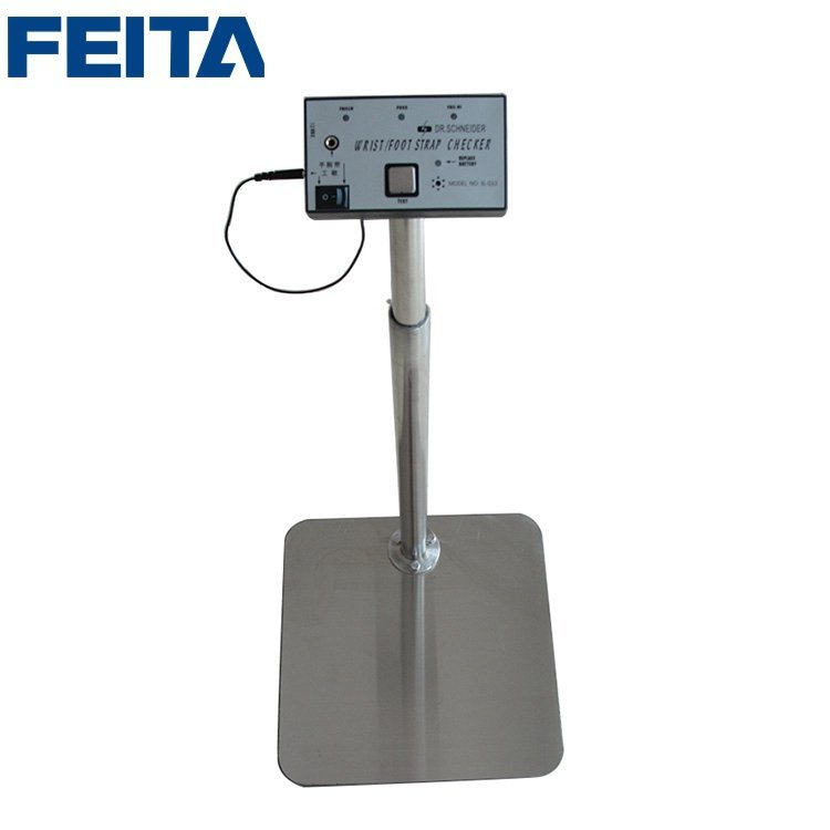 SL-033 Human Surface ESD Tester Anti-static Resistance Meters with  Single Foot Platform