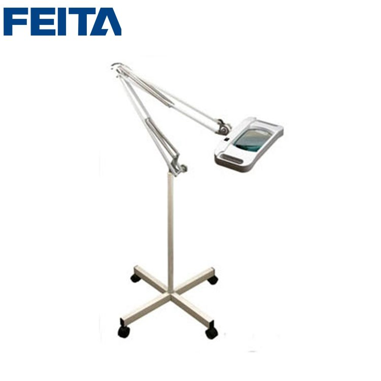 Lt 86f Led Light Source Magnifying Lamp With Floor Foot