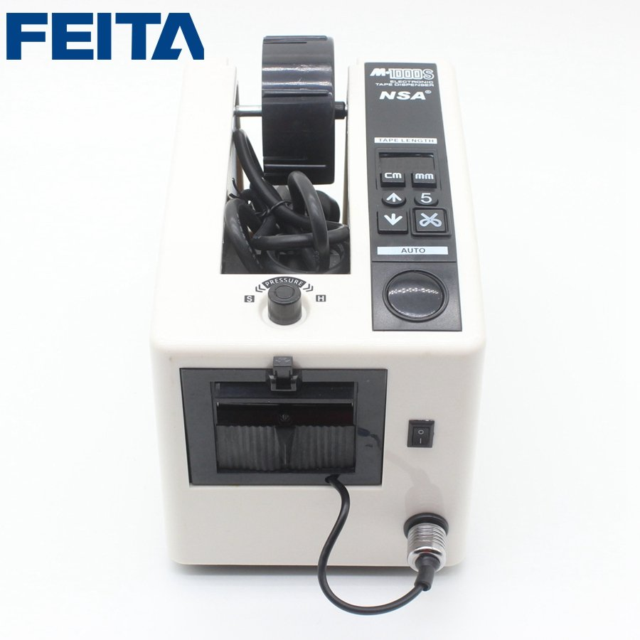 M-1000S Automatic Tape Dispenser Machine Auto Tape Cutter Machine with Infrared Sensor Function